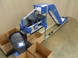 box filler conveyor system