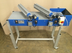 horizontal paddle separator conveyor