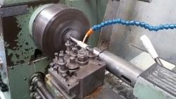 machining conveyor axles